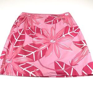 Lilly Pulitzer Tropical Palm Lily A-Line Skirt